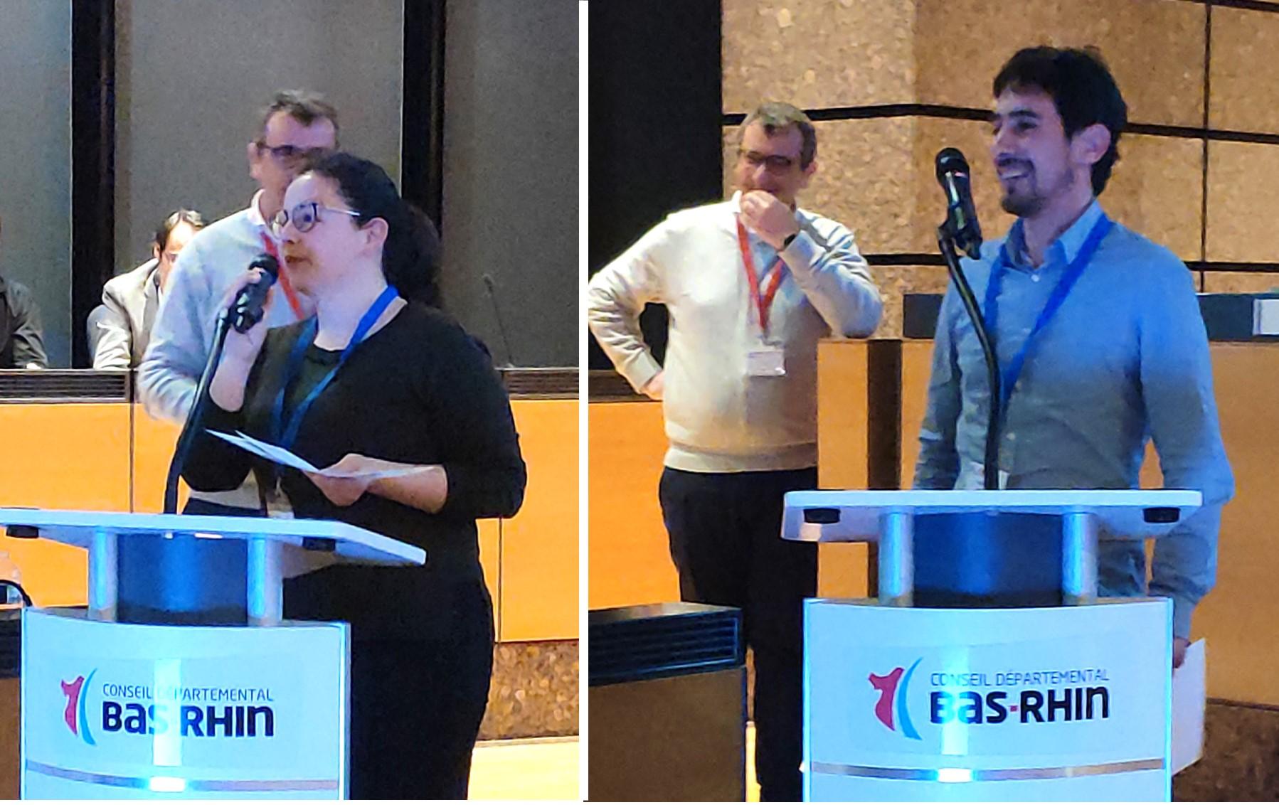 Remise des prix posters lors du congrès SFRMBM 2019