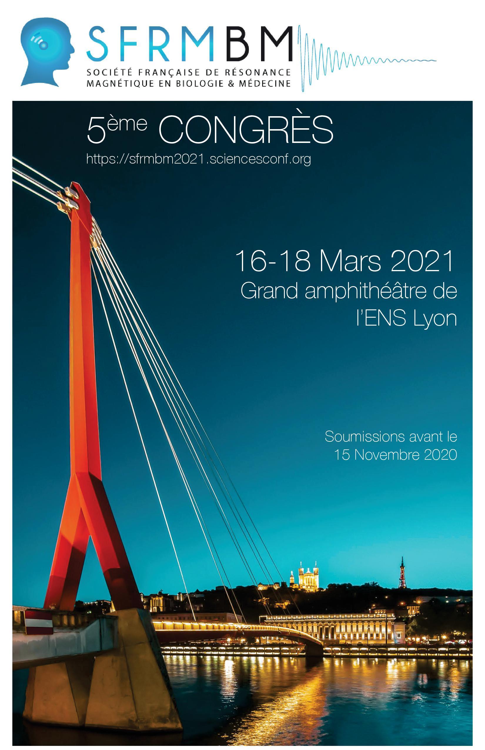 Congrès SFRMBM 2021